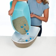 "Туалет ""TRIXIE"" для кошек ""Berto"" аквамарин"