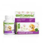 Фитомины ГематоКэт для котят, 100 табл.