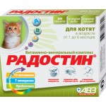 Добавка РАДОСТИН КМ вит.-минер. для котят 1-6 мес., 90таб.