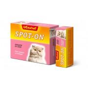 "Биокапли антипаразитарные на холку Amstrel ""Spot-on"" для кошек и котят 1 флакон/ 1 мл"