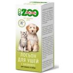 Лосьон для ушей ЭКО ZOOЛЕКАРЬ для кошек и собак, 30 мл