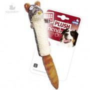 """Игрушка """"GiGwi"""" для собак """"Белка"""" с пищалкой, 29 см"""