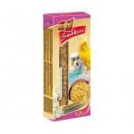 Vitapol для волнистых попугаев Smakers зерновые палочки с медом 2шт, 90г