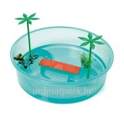 Контейнер Round turtle tray для черепах