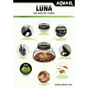 Аквариум Aquael LUNA BLACK LT