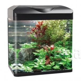 Изогнутый угловой аквариум Haqos E480, 49л