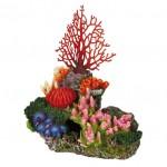 "Декорация для аквариума ""TRIXIE"" ""Кораловый риф"" с воздухоотводом"