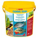 SERA Cichlids Sticks, 10л, 2кг