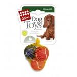 """Игрушка """"Goods for pets"""" для собак """"Мяч малый"""", с пищалкой, 4,8 см, 3 шт"""