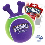 """Игрушка """"GiGwi"""" для собак """"Мяч с захватом"""" с ручкой """"Джамбол"""", фиолетовый, 18 см"""