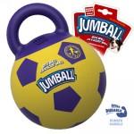 """Игрушка """"GiGwi"""" для собак """"Мяч с захватом"""" с ручкой """"Джамбол"""", желтый 26 см"""