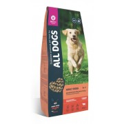 Корм All Dogs для взрослых собак с говядиной и овощами