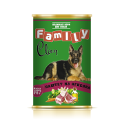 Clan Family консервы для собак Паштет из Ягненка