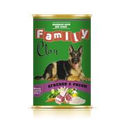 Clan Family консервы для собак Ягненок с Рисом