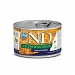 Farmina N&D Ancestral Grain Dog Lamb & Blueberry wet food
