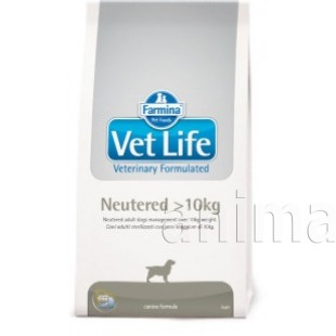 Farmina Vet Life Neutered Dog > 10 кг