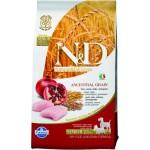 Farmina N&D Low Grain Chicken & Pomegranate Senior Mini & Medium