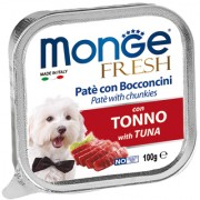 Monge Fresh Dog Tuna (паштет из тунца)