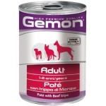 Gemon Dog Adult Pate Beef Tripe (паштет из говяжьего рубца)