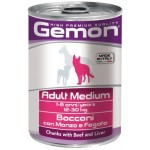 Gemon Dog Medium Adult Beef/Liver (говядина/печень)