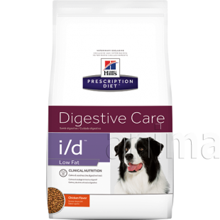 Hills Prescription Diet Canine i/d Low Fat Digestive Care (курица)