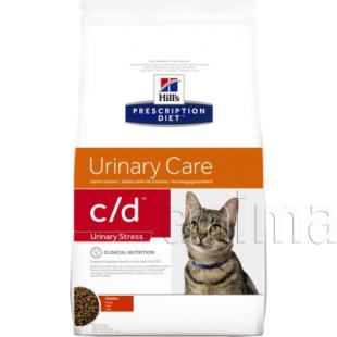 Hills Prescription Diet c/d Urinary Stress для кошек (курица)