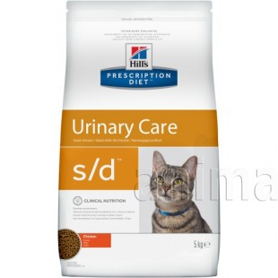 Hills Prescription Diet s/d s/d Urinary Care для кошек (курица)
