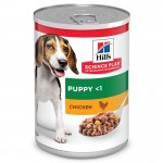 Hills Science Plan Puppy Chicken влажный