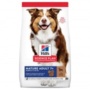 Hills Science Plan Canine Mature Adult 7+ Medium with Lamb