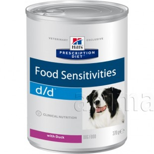 Hills Prescription Diet d/d Canine Duck