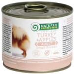 Natures Protection Dog Adult Small Breeds Turkey & Apples