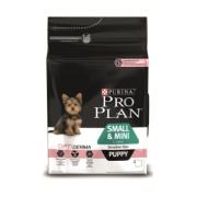 Pro Plan Small & Mini Puppy Sensitive Skin (лосось, рис)
