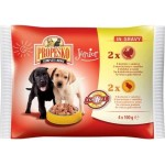 Propesko Pouch Dog Junior Turkey and Chicken (индейка и курица)