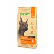 Корм сухой TITBIT гипоаллергенный для собак всех пород Индейка с картофелем