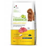 Trainer Natural Adult Dog Mini Beef & Rice