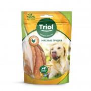 Мясные грудки Triol PT26 из курицы для собак, 70гр