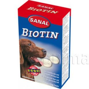 Санал для собак биотин, 40 таблеток
