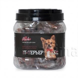 GreenQzin IT-ТЕРЬЕР (колбаски для мини пород с мясом кролика) 520 гр.