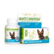 Фитомины для зубов и костей собак, 100 табл.