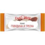 """Лакомства для собак """"DOG FEST"""" пенне говядина и треска, 6г (20шт.)"""