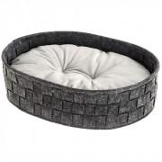 Лежак для животных Ferplast Cocoon, темно-серый