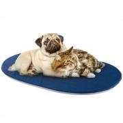 Лежак для животных Ferplast Galette, синий/серый