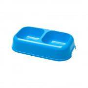 Миска для животных Ferplast Party двойная, синяя