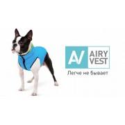 Курточка двухсторонняя AiryVest, кораллово-серая