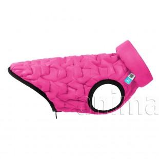 Курточка двухсторонняя AiryVest UNI, розово-черная