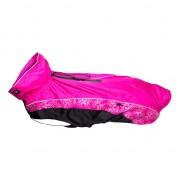 Попона с капюшоном Rogz RainSkin, розовая