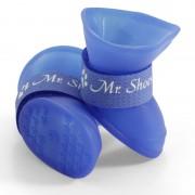 Сапожки Triol YXS202 для собак синие, 4шт