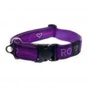 Ошейник Rogz Fancy Dress Purple Chrome, фиолетовый