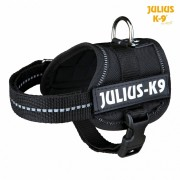 Шлейка Trixie тренировочная для щенков Julius-K9, черная