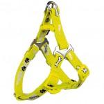 "Шлея ""TRIXIE"" для собак ""Modern Art Harness Woof"", желтый"